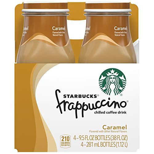 Starbucks Frappuccino Coffee Drink, Caramel, 9.5 oz (4 Pack)