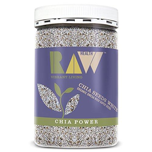 - Raw Health - Organic White Chia Seeds...