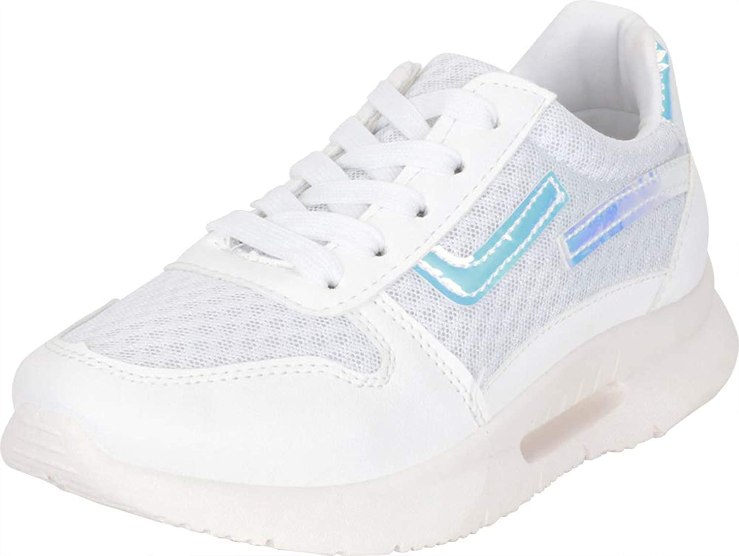 Cambridge Select Women's Low Top 90s Ugly Dad Lace-Up Chunky Platform Fashion Sneaker