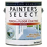 True Value UGF4-GL Painter's Select Tile Red Base Exterior Urethane Fortified Gloss Porch and Floor Coating, 1-Gallon