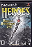 Heroes of Might and Magic: Quest for the Dragon Bone Staff - Play Station 2