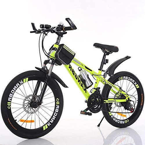 Bicicleta de montaña de con suspensión Completa y Cambio de Cadena de...