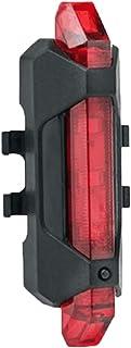 Floridivy 5 LED USB Recargable Cola luz de luz Trasera la