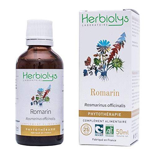 Extrait De Plantes Fraîches Romarin Bio | Phytothérapie | 50 ml | Herbiolys