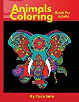 Animals Coloring: Book for Adult