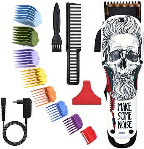 Cortadora de cabello Profesional Hombre eléctrica sin cable para niños / hombres,...