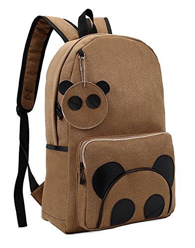 Yonger Fashion Panda Pattern School Bag Boy Girl Backpack Back Pack