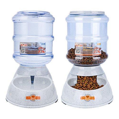 ePeTop Automatiques Distributeur de Nourriture et d'eau pour Chat et...