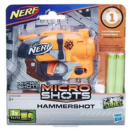 Nerf- Microshots Hammershot SE1, Multicolor (Hasbro E0720ES0)