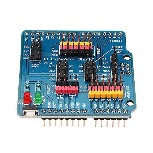 Extension Ouvert-Smart IO Port Conseil Extension Module d/étection Compatible avec Arduino Uno Ils