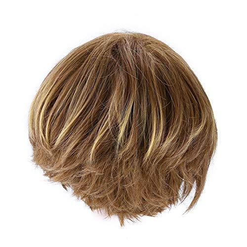 Pelucas cortas rectas sintéticas para Cosplay para el partido para el peinado del pelo