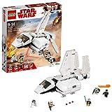 LEGO Star Wars - Nave de Aterrizaje Imperial, Juguete Creativo de La Guerra de las Galaxias con Nave Espacial y Minifiguras de Obi-Wan Kenobi y R2-D2 (75221)