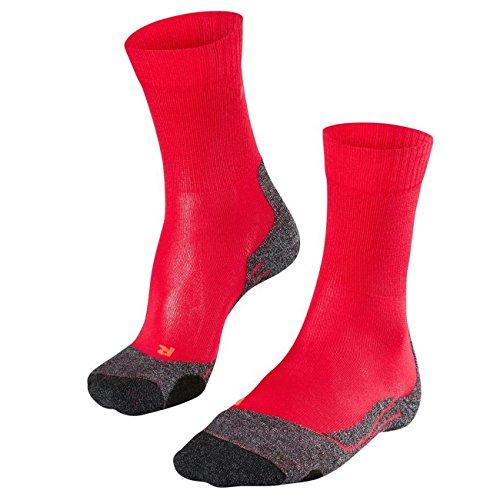 FALKE TK2 Cool Trekking Socken Damen rot Schuhgröße EU 39-40 2021