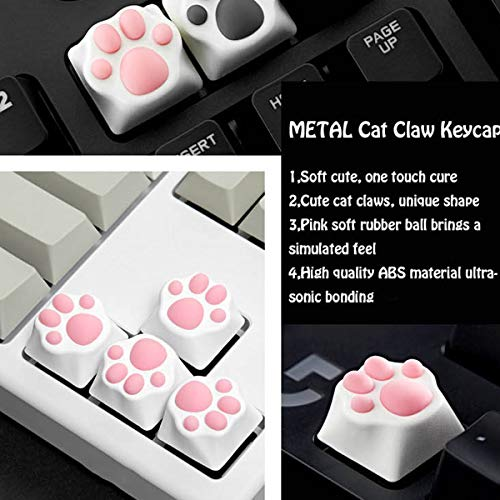 Custom Gaming Key Cap - Byhoo Cat Palm Keycap for Cherry MX Switch Machinery Keyboard for ESC Key, Metal Cat Claw Keycap for FPS MOBA Game Players, Keyboard Enthusiasts