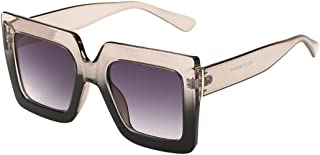 346c47805f1c WensLTD Clearance! Women Man Vintage Big Frame Square Shape Classic  Sunglasses