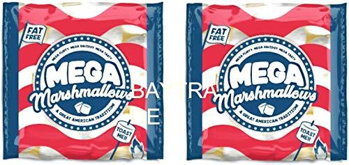 2 x Marshmallow giganti 1100 grammi per barbecue tostatura S'Mores barbecue falò arrosto - Extra Large - Mega American
