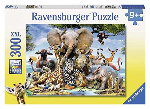 Ravensburger - Puzzle diseño Cachorros Africa, 300