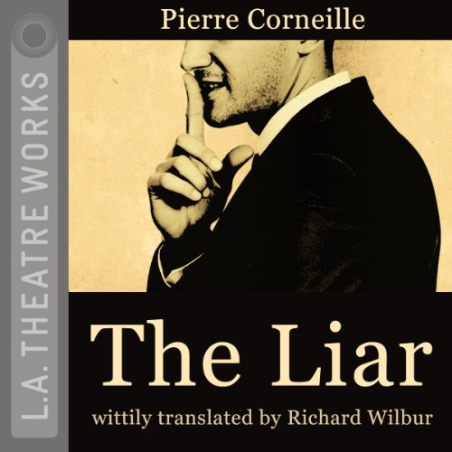 The Liar audiobook cover art