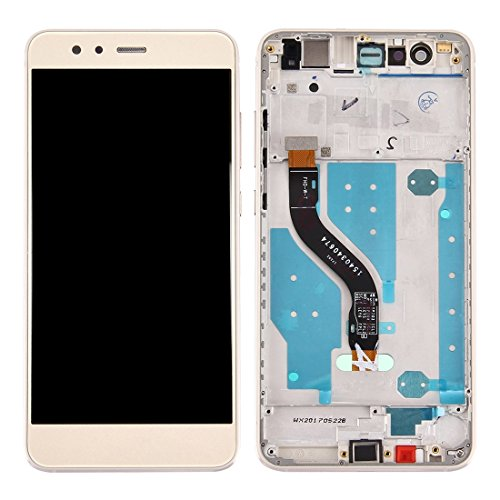 Compatibele Vervangings IPartsBuy for Huawei P10 Lite/nova Lite LCD-scherm + Touch Screen met Frame Accessory (Color : Gold)