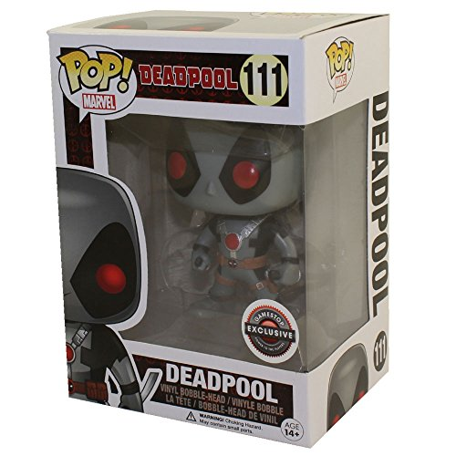 Funko - Figurine Marvel - Deadpool X-Force 2 Swords Exclu Pop 10cm - 0849803074890