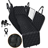 Car Seat Cover for Dogs, 100% Waterproof Dog Seat Cover for Back Seat with Mesh Window, Scratchproof Dog Car Hammock for Cars, Trucks, SUVs, Jeep, Nonslip Back Seat Protection
