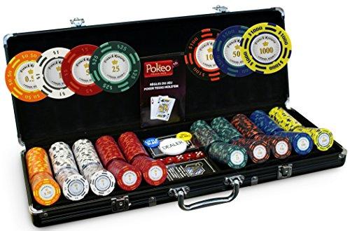 Malette Poker French Riviera 500 jetons Tournament
