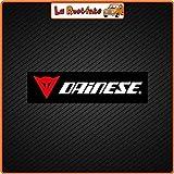 La Ruotante 2 Adhesivos Dainese (Vinilo) Coche Moto Vespa Bicicleta Casco - 18x4,5 Cm