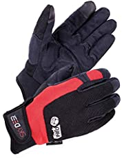 SKYDEER Hi-Performance WorkPRO Synthetic Leather Flexible Work Gloves (SD8820)