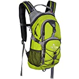 TETON Sports Oasis 1100 Hydration Pack; 2-Liter Hydration Backpack with Water Bladder; For Backpacking, Hiking, Running, Cycling, and Climbing (Bright Green)