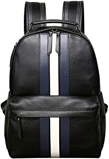 Fmdagoummzibeib Backpack, Unisex Leather Backpack,desirable Business/Travel/Hiking, for 15.6 Inch Business Laptop Backpack