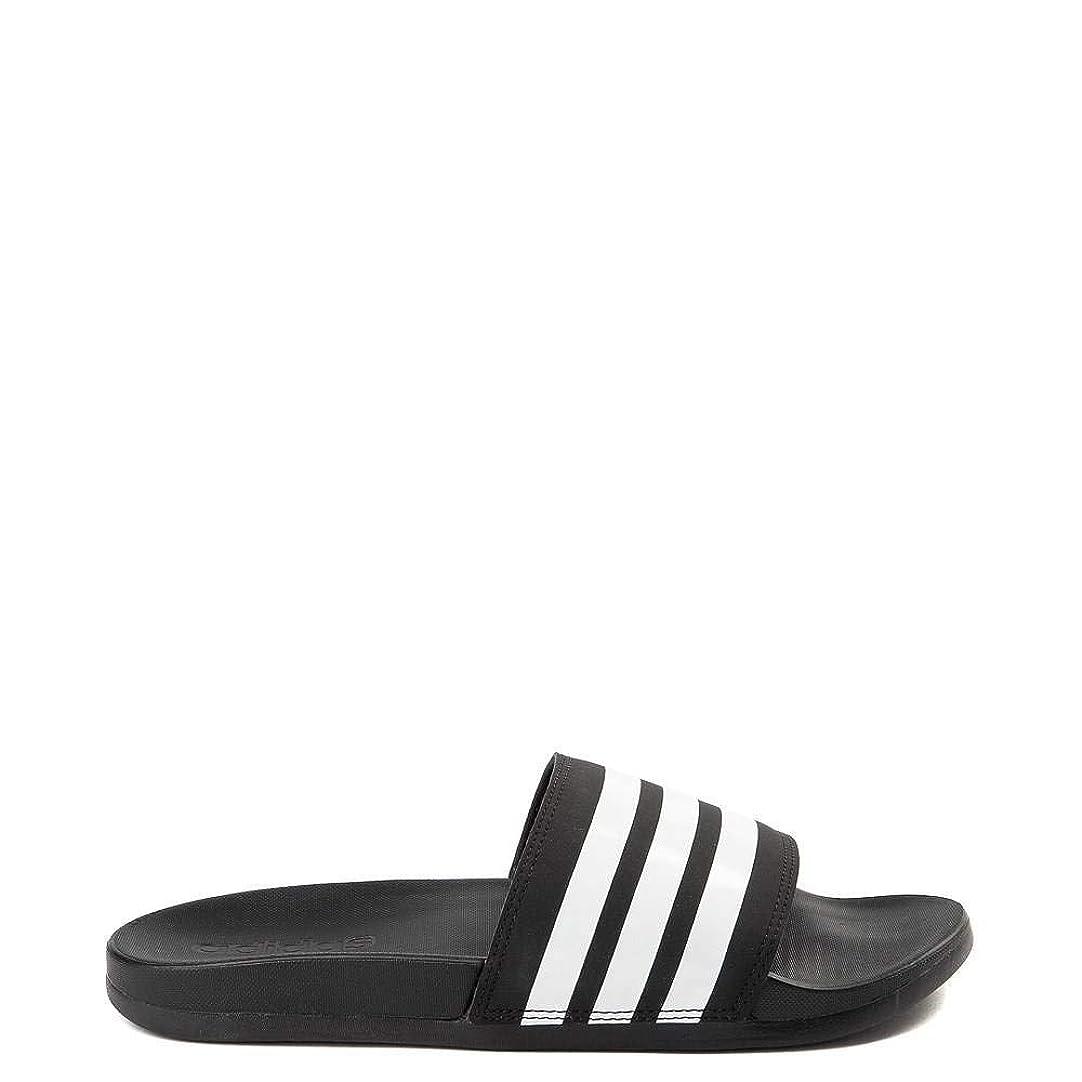 摂氏度社会学セットアップ[adidas(アディダス)] レディース靴?サンダル Adilette Comfort Slide Sandal アディレットコンフォート Black/White [並行輸入品]