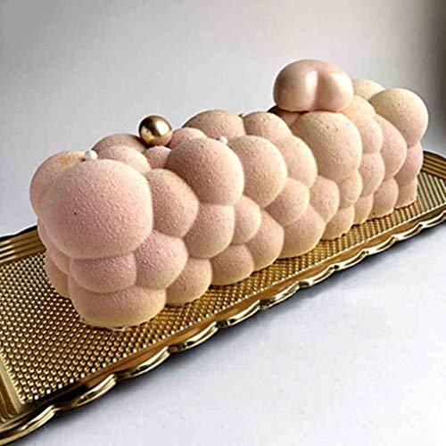 Vivianu Moule en silicone à bulles 3D pour glaces, chocolats, gâteaux