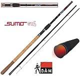 DAM Sumo GT4 Method Feeder 13', Feederrute, 3.90m, 30-100g, 3+3 teilig -