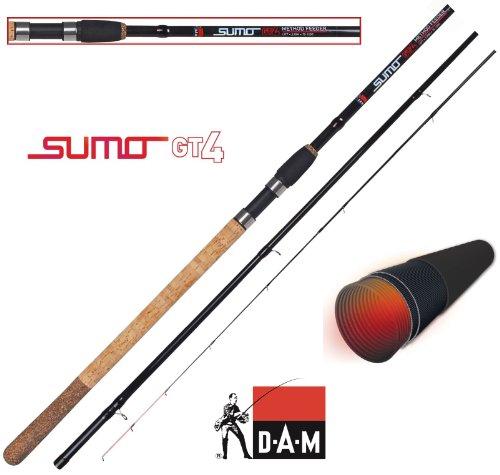 DAM Sumo GT4 Method Feeder 13', Feederrute, 3.90m, 30-100g, 3+3 teilig