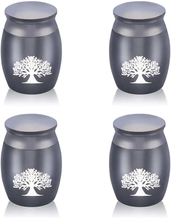 Custom In stock Engraved Tree of Life Keepsake Super Special SALE held Funeral for Ashes Urn Set