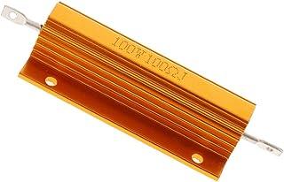 Baosity 1 Pcs 100W 100 Ohm Screw Mounted Aluminum Housed Wirewound Resistors