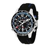 SECTOR NO LIMITS Herren Analog Quarz Uhr mit Silikon Armband R3251506001