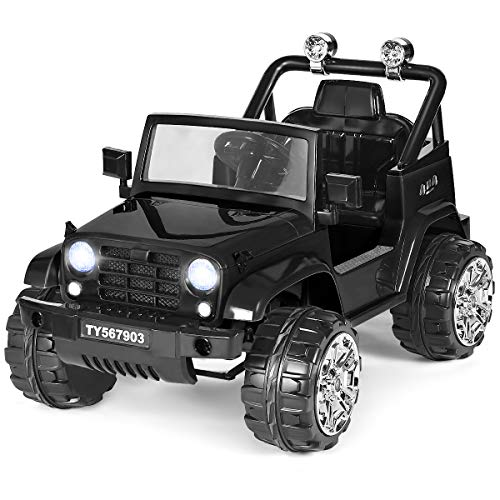 Costzon Ride on Jeep, 12V Battery...