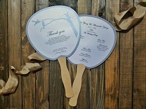 Program Fan, Wedding Program, Destination Wedding, Wedding, Beach wedding, Ocean Wedding, Fan, Program, Wedding, Wedding Thank you