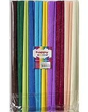 Bibula marszczona Happy Color Mix 10 kolorów