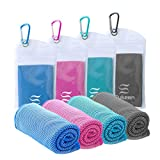 """Cooling Towel Instant Evaporative Cooling,Snap Cooling Towel for Sports,Yoga,Golf,Gym,Neck,Workout and More(40""""x 12"""")"""