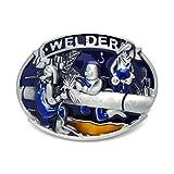 MarryAcc Welder Belt Buckle Gift for Welder (Welder Colorful)
