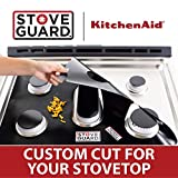 KitchenAid Stove Protectors - Stove Top Protector for KitchenAid Gas Ranges, Ultra Thin Easy Clean Stove Liner