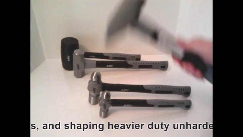 ABN Hammer Set with Fiberglass Handles 5-Piece
