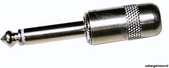 New Switchcraft 380 1/4 6.35 mm Mono TS 2 Conductor Cable Plug 1