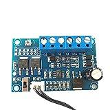 Acxico 1Pcs DC 12V/24V 4A 2-Way Automatic PC CPU Fan Temperature Control Board PWM Temperature Speed Controller Module