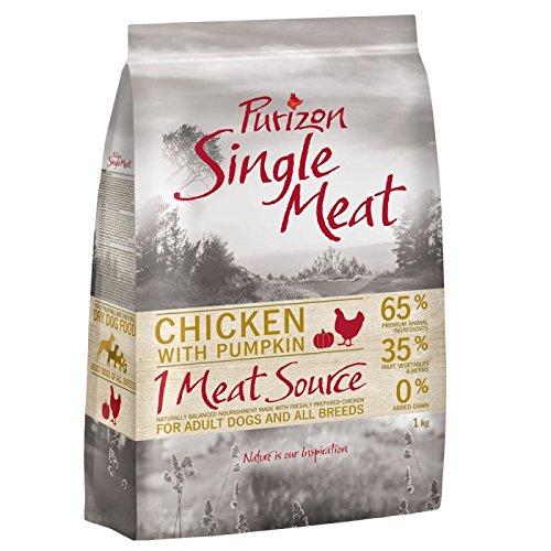 Purizon Single Fleisch für ausgewachsene Hunde, 12kg –-Huhn mit Kürbis. Eine heathly ausgewogenen Lebensmittel für Ihren Hund