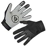 Endura SingleTrack Full Finger Cycling Glove - Pro Mountain Bike MTB Gloves Black, Small