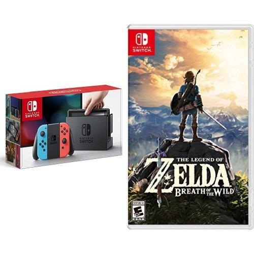 Console Nintendo Switch - La Légende de Zelda: Souffle de la Nature | The Legend of Zelda - Breath of the Wild - 0