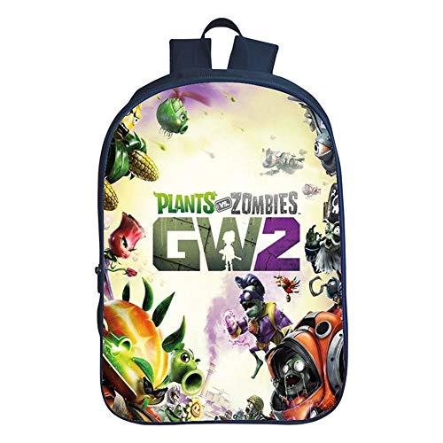 YXRL Kinderrucksack 3D-Druckereien Zombies Primary School Bag Boy Wasserdichter Reiserucksack J